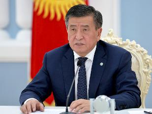 吉尔吉斯斯坦总统提议研究暂停各地区间交通运输的可能性