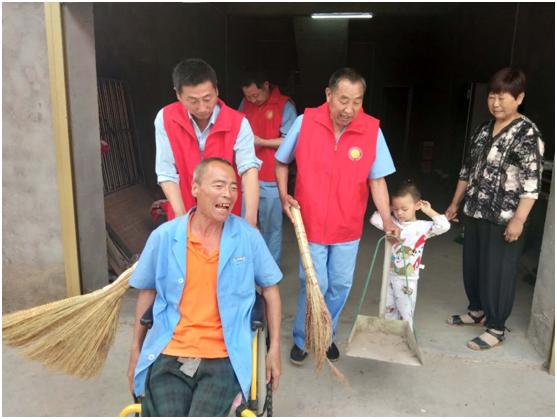 安徽泗县:投身志愿 俯身解困助脱贫