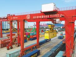 前8个月连云港中欧班列大幅增长