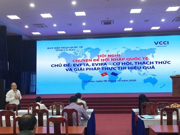 越南金瓯省寻找措施来有效实施EVFTA和 EVIPA