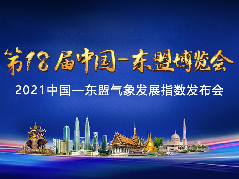 2021中国—东盟气象发展指数发布会