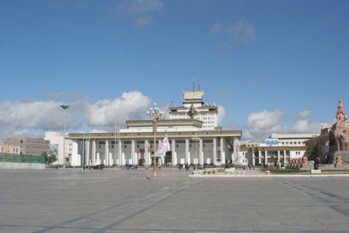 蒙古国首都乌兰巴托