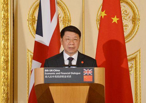 11月10日,财政部史耀斌副部长出席在英国伦敦举行的第八次中英经济财金对话并在会后回答中外媒体提问。