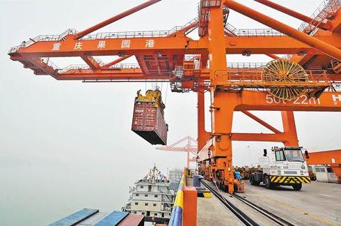 资料图:重庆果园港