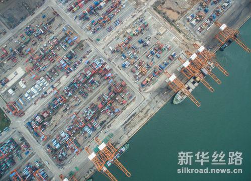 广西钦州保税港区码头