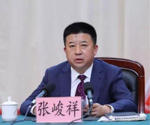 经开区(头区)区委副书记、管委会主任、代区长张峻祥
