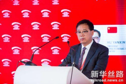 图为胡延新在2017中国投资论坛分论坛上发言