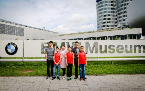 河渠希望小学学生参观慕尼黑宝马博物馆