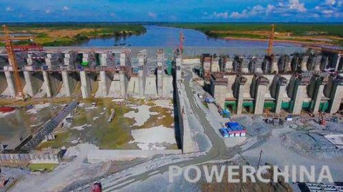 桑河电站是目前柬埔寨最大的水电工程,电站投产发电后,电能将通过上丁-桔井-磅堪-金边的输变电线路并网,向广大柬埔寨人民提供充足电力。