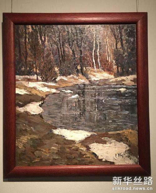 茹科夫斯基作品《最后一场雪》