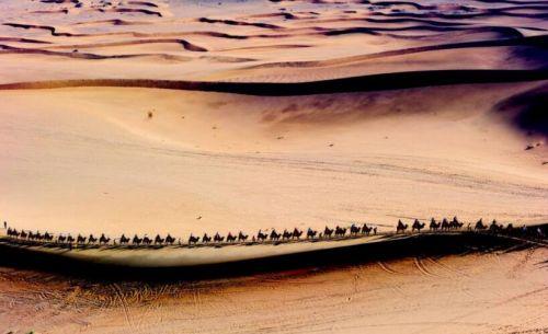 丝绸之路 图片来自网络