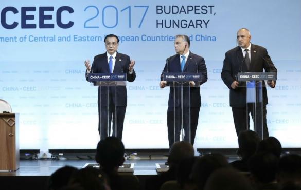 李克強出席第六次中國-中東歐國家領導人會晤