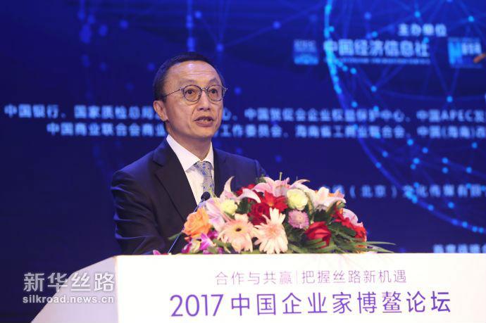 普华永道中国内地及香港市场主管合伙人林怡仲 新华社 王吉如摄