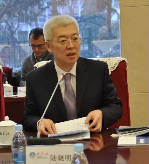 新华社首席经济分析师陆晓明主持会议
