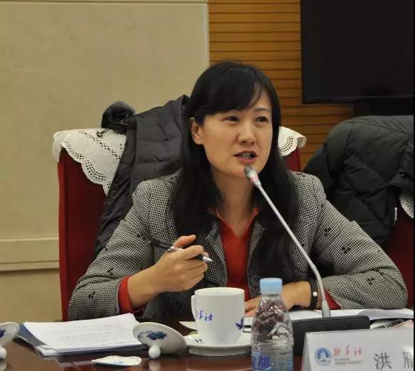 中国铁路经济规划研究院经管所所长洪雁发言