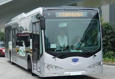 比亚迪电动公交车