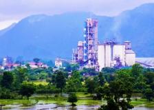 老挝水泥厂全貌