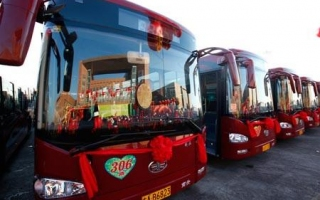 今年长春市将新增更新公交车辆400台以上