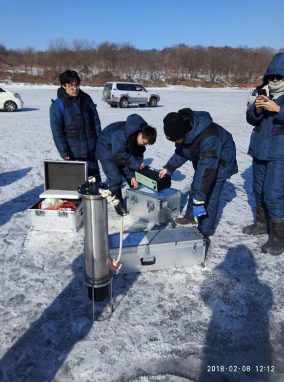 中俄高校联合完成一项高纬度海冰声学试验