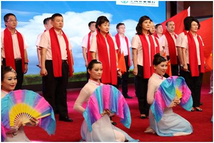 """农行新疆兵团分行举办""""拥抱新时代,开启新征程""""3"""