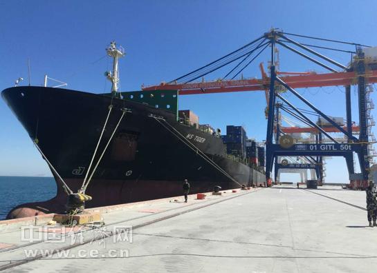 瓜达尔港开通集装箱班轮航线 连通巴基斯坦和中东地区1
