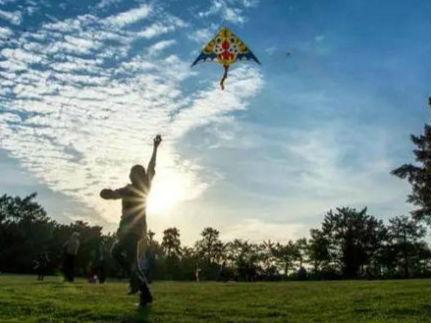 春风三月宁夏银川这些地方最适合放风筝