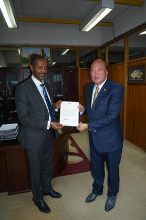 埃塞俄比亚新任贸易部长邀请天狮集团赴埃塞建设大健康等产业项目