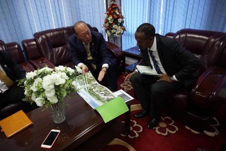 埃塞俄比亚新任贸易部长邀请天狮集团赴埃塞建设大健康等产业项目1