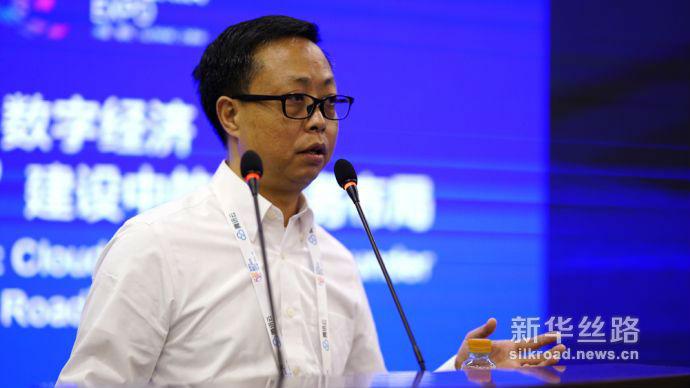2018数博会中国长城科技集团股份有限公司副总裁段军2