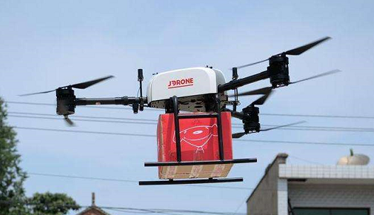 SILKROAD|JD.com launches JDY-800 drone to