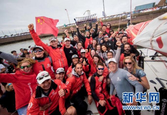 东风队夺得2017-2018沃尔沃帆船赛总冠军5