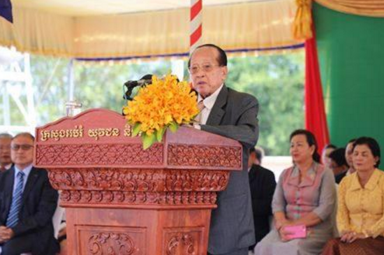 柬埔寨副首相何南丰