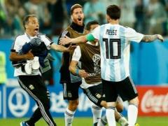 绝处逢生!梅西破门阿根廷逆袭晋级