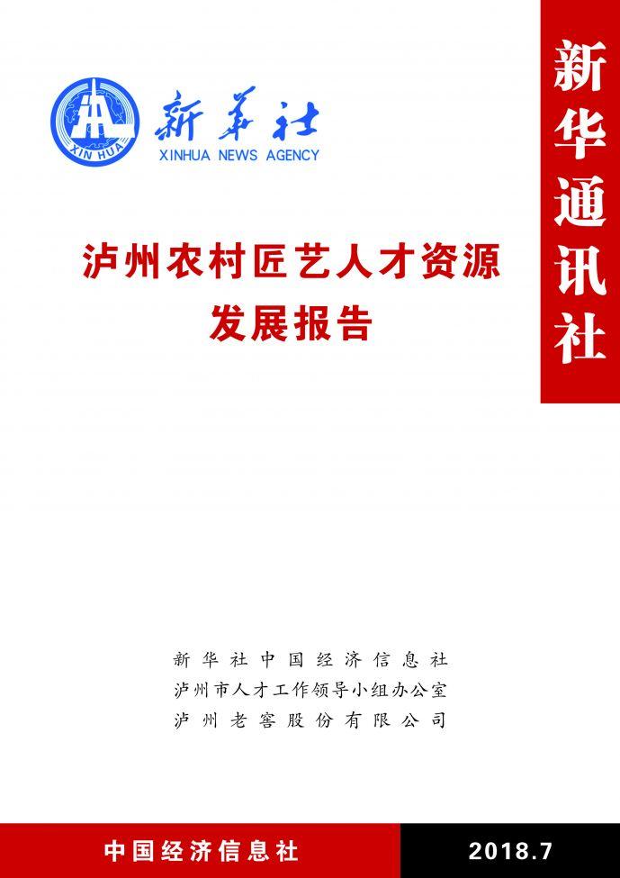 泸州艺人发展报告