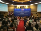 """中国-东盟建立战略伙伴关系15周年纪念招待会暨""""和谐共处""""图片展日前在印度尼西亚首都雅加达的东盟秘书处举行。与会双方代表表示,将进一步促进贸易"""