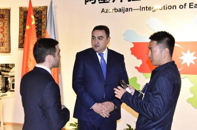 """阿塞拜疆大使专访:""""一带一路""""让世界更加繁荣、和平2"""