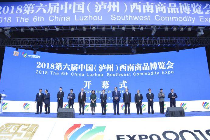 泸州商博会开幕式