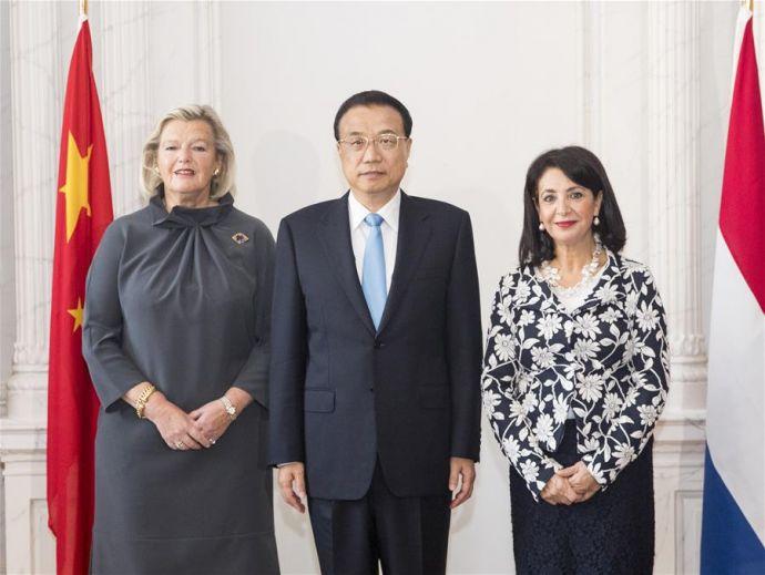 THE NETHERLANDS-THE HAGUE-CHINA-LI KEQIANG-OFFICIALS-MEETING