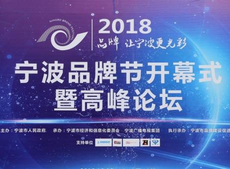 2018宁波品牌节开幕式暨高峰论坛图片