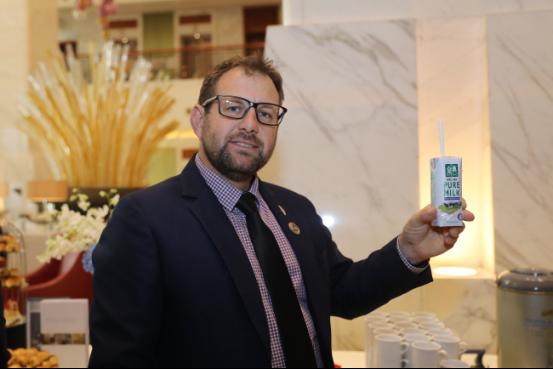 金典新西兰纯牛奶特供国际展望大会2