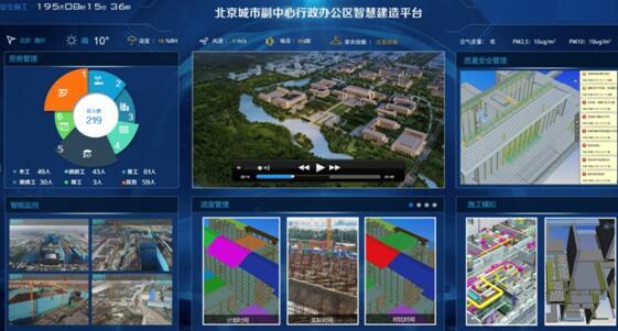 广联达:北京城市副中心行政办公区基于BIM的工程项目案例