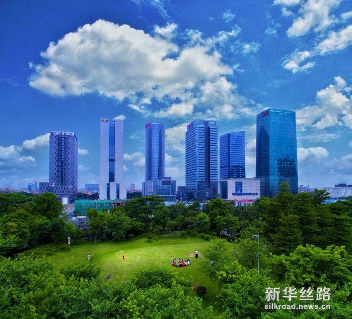 广东省佛山市南海区大沥镇城市新貌