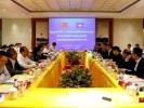 1月10日,中柬两国政府关于西哈努克港经济特区协调委员会第三次会议在西哈努克港经济特区内顺利召开,中国商务部副部长钱克明和柬埔寨发展理事会秘书长宋金达分别率领中柬