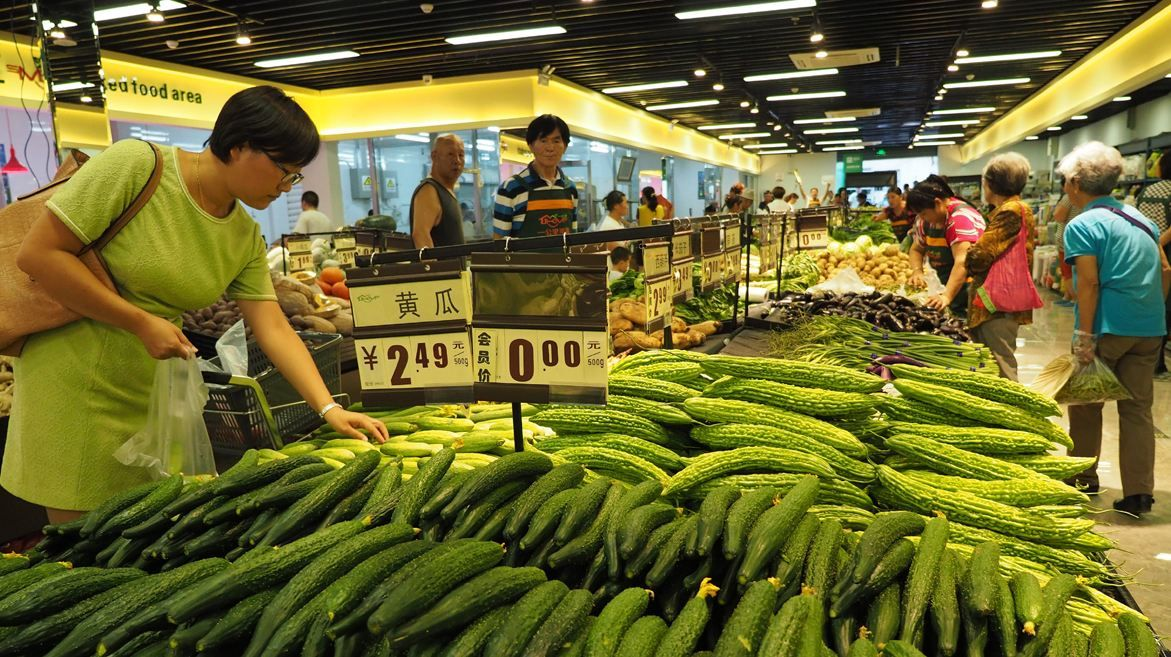 China's weekly farm produce prices ease expansion