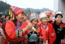 """广西柳州融安:唱起山歌喜迎壮族""""三月三"""""""