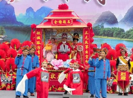广西三月三:各地将举办900场活动 民俗饕餮盛宴任你嗨