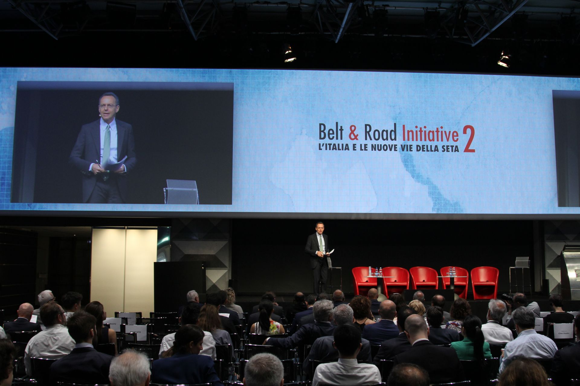 Italian firms keen to participate in Belt & Road for win-win results