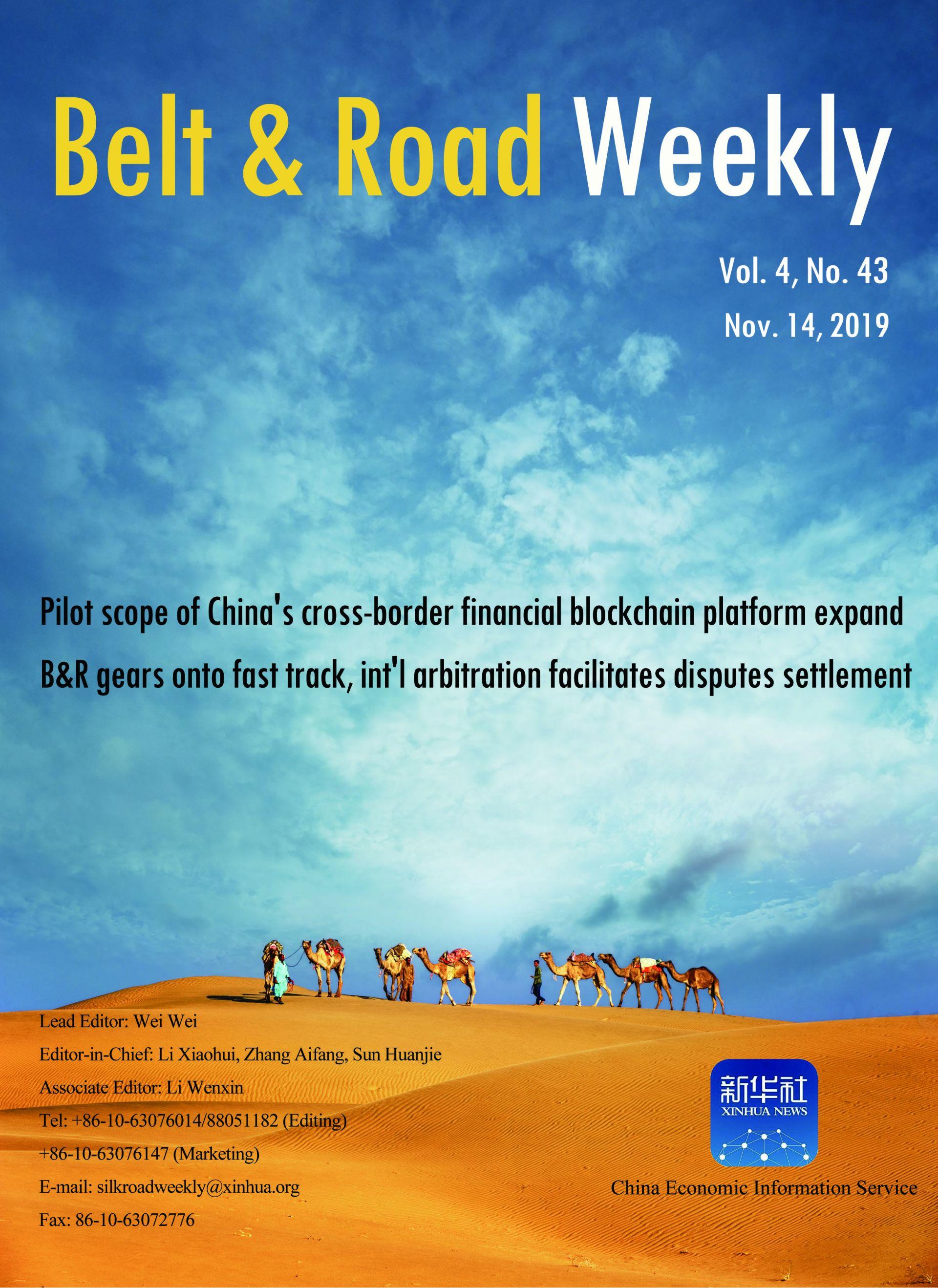 Belt & Road Weekly Vol. 4 No. 43