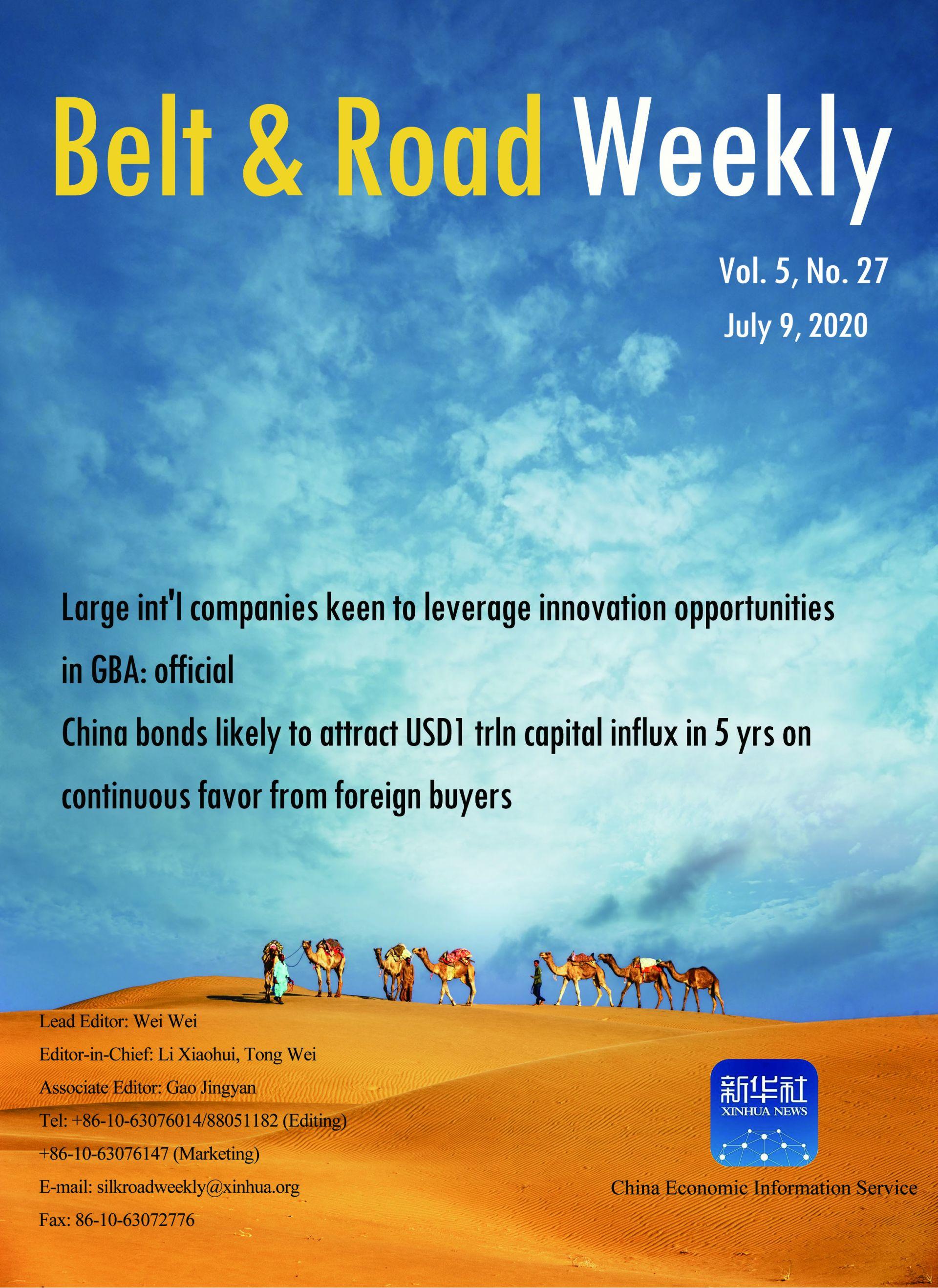 Belt and Road Weekly Vol. 5 No. 27