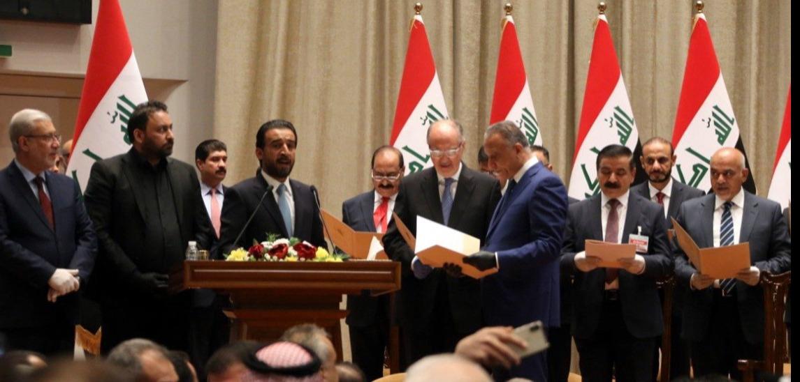 穆斯塔法·卡迪米宣誓就任伊拉克总理